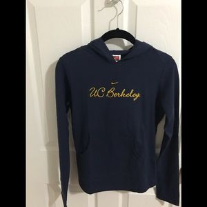 Nike Tops - Women's Nike UC Berkeley hoodie; small— NEW